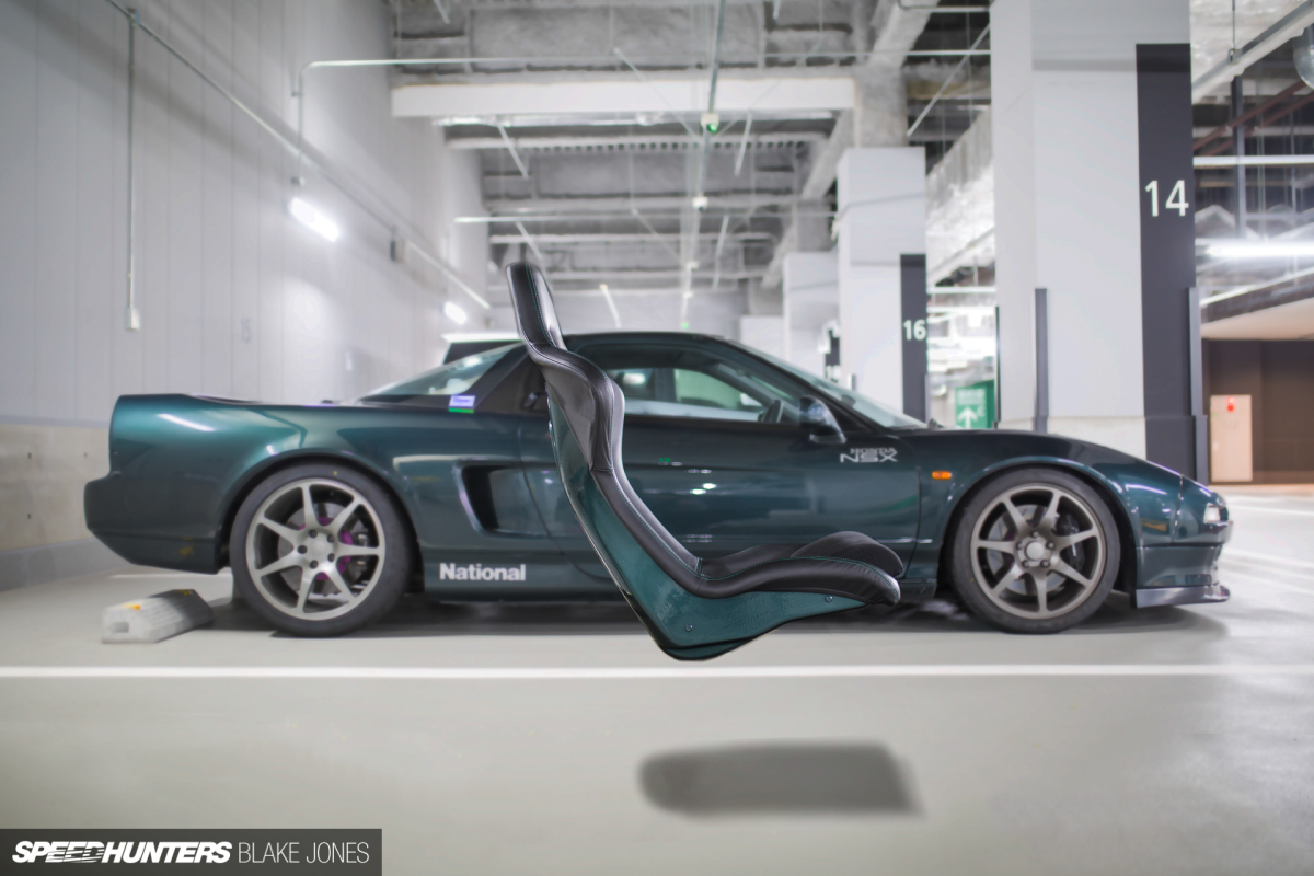 Pew Pew! Project NSX Gets Seated With Cobra