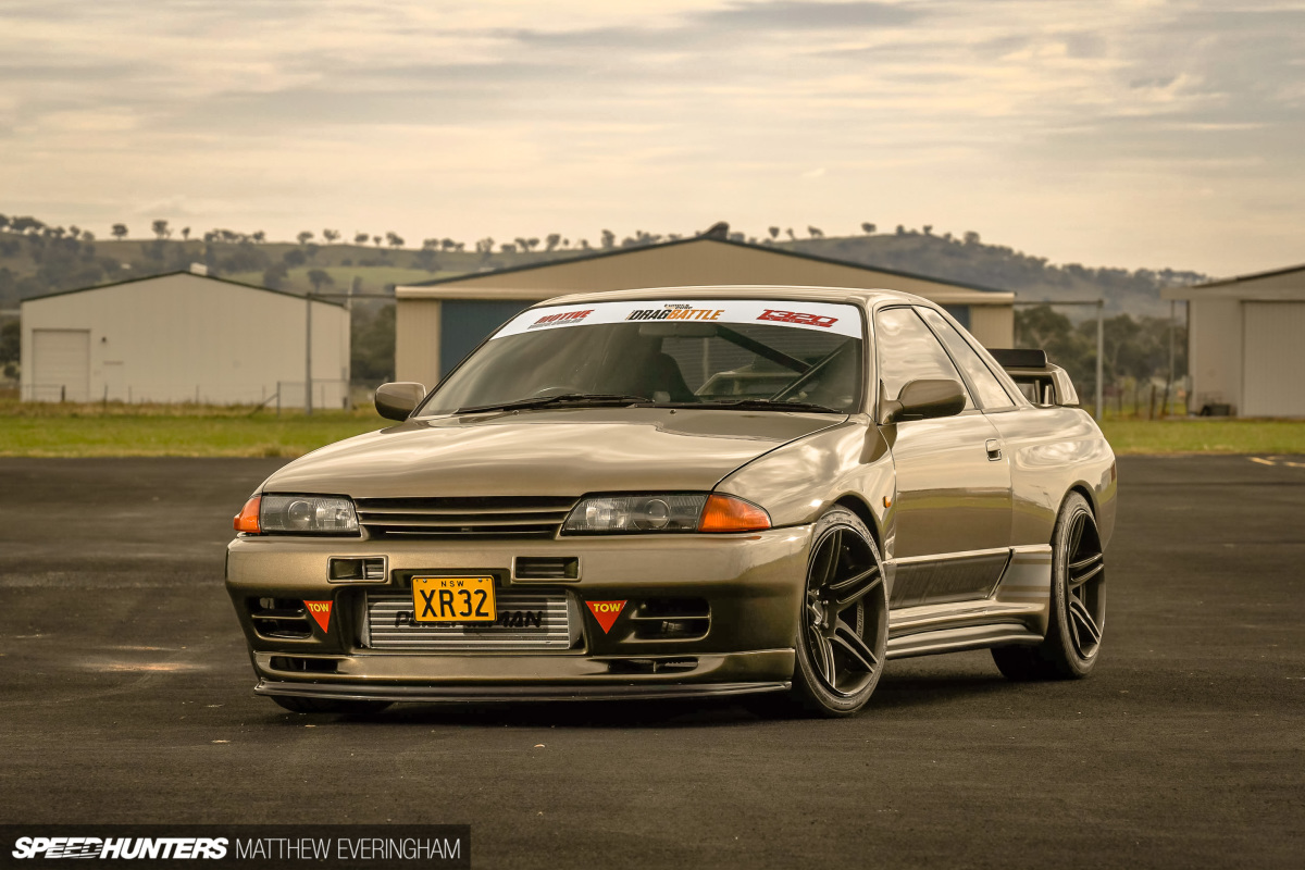 Swapping Sixes: The Barra-Powered Skyline R32