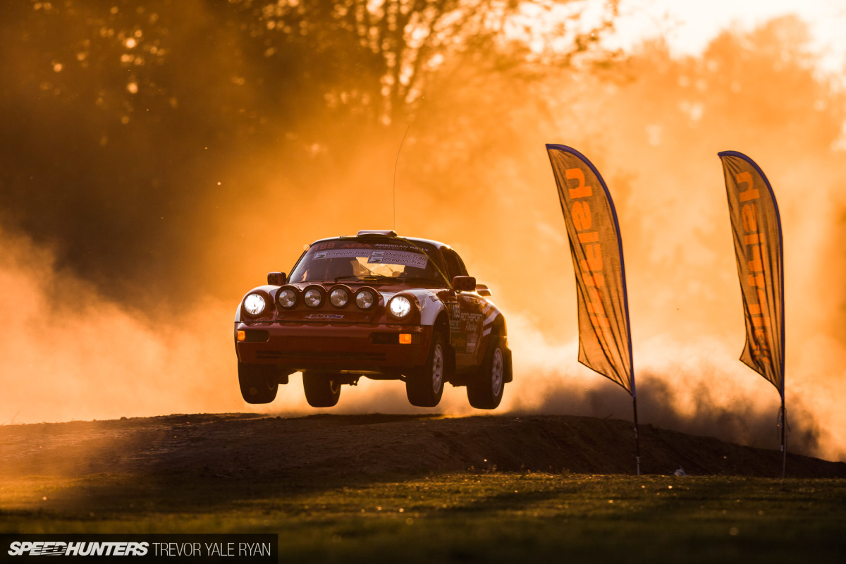 Oregon Trail Rally: Tarmac, Dirt & Just Enough Hang Time