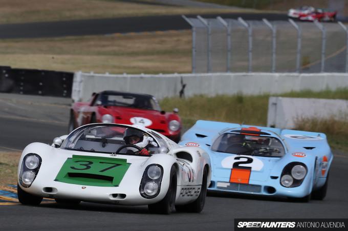 Sonoma Speed Festival Porsche 910 917K Luftgekuhlt Antonio Alvendia