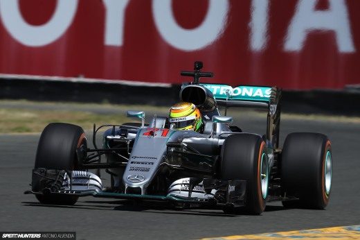 Sonoma Speed Festival Mercedes AMG Formula One F1 Antonio Alvendia 1DX204861920wmsh