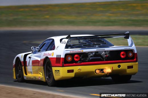 Sonoma Speed Festival Ferrari  F40 LM 1DX221401920wmsh