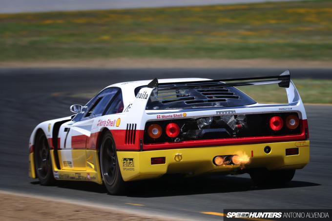 Sonoma Speed Festival Ferrari  F40 LM
