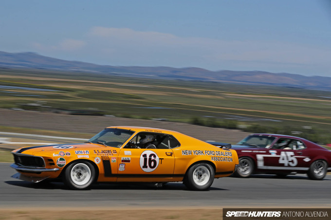 Sonoma Speed Festival SCCA Trans Am Mustang Boss 302
