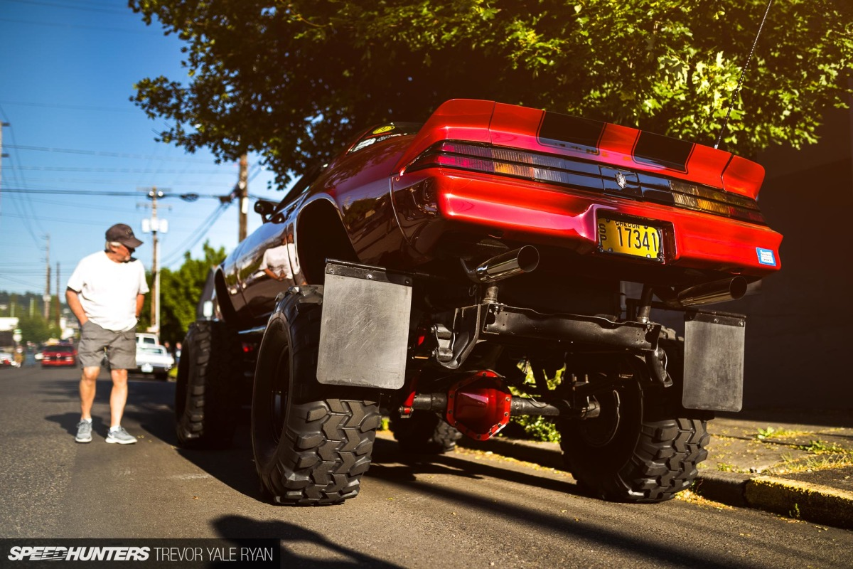 Something Different: A Lifted '79Camaro
