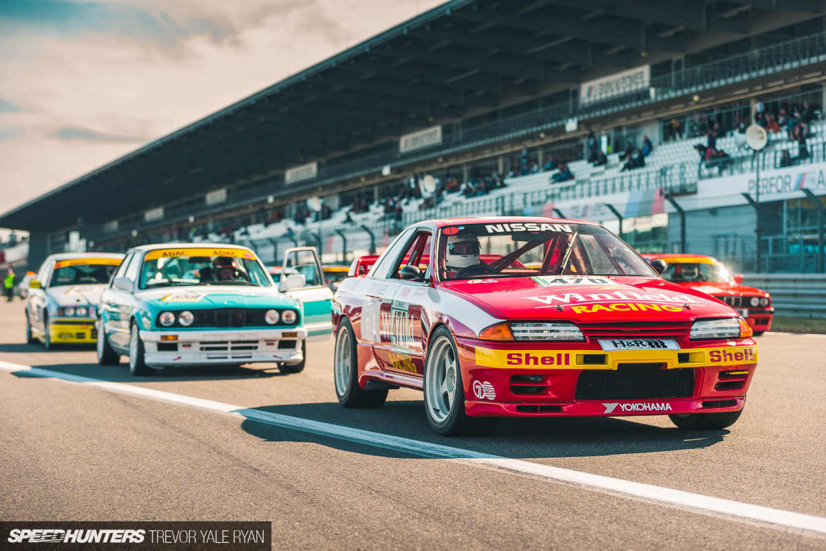 Godzilla In Germany: An R32 GT-R At The N24 Classic