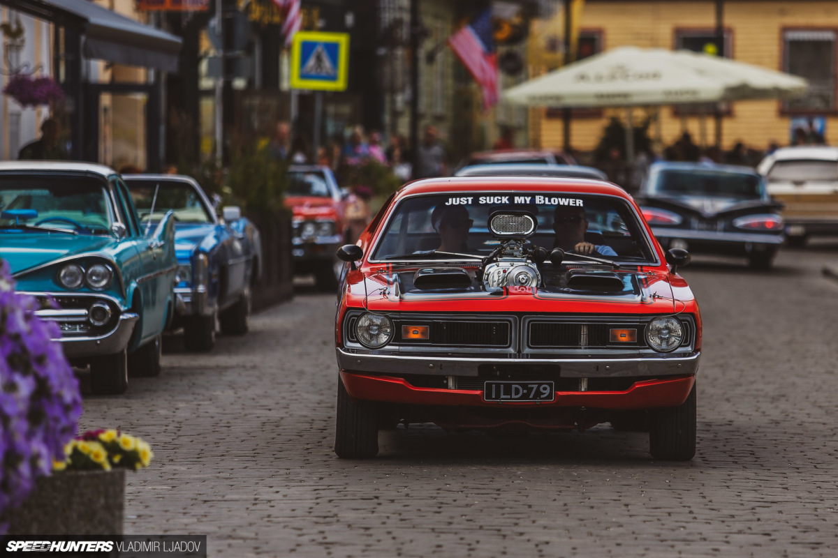 Celebrating American Car Culture In A Post-Soviet Land