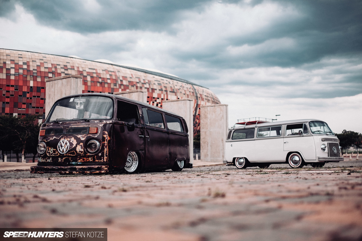 When One VW Bus Isn't Enough, Just Build Two