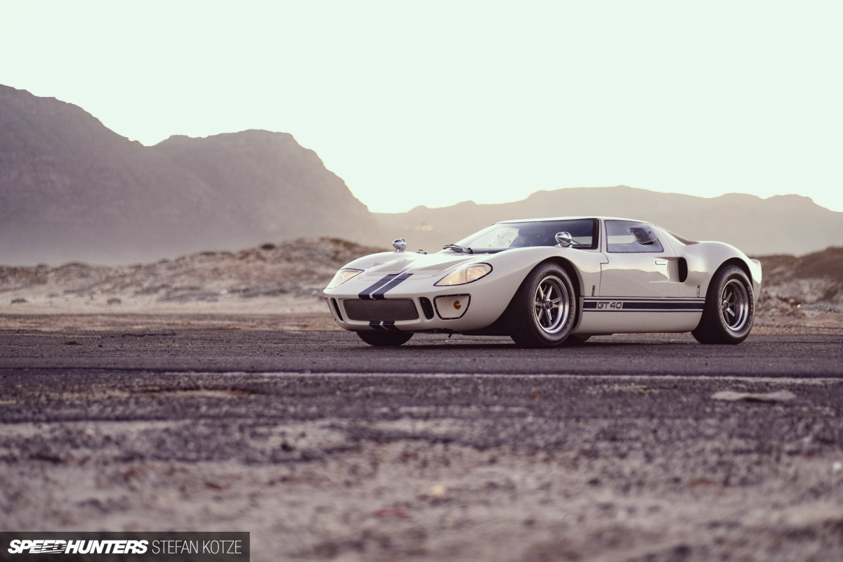Looks Old, Feels New: A Modern GT40 Replica