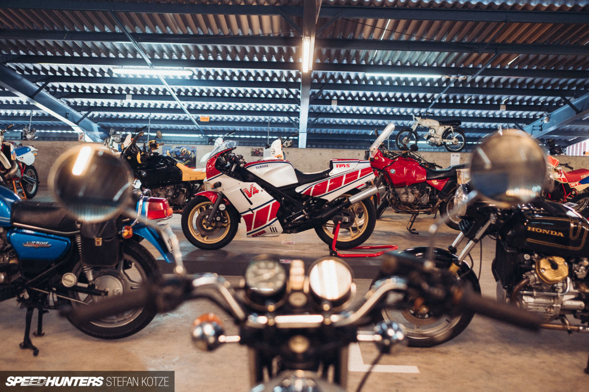 Inside The Motorcycle Room