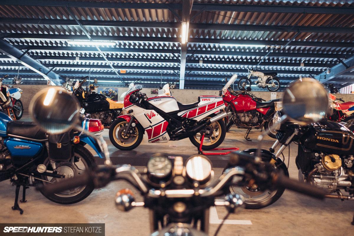Inside The MotorcycleRoom