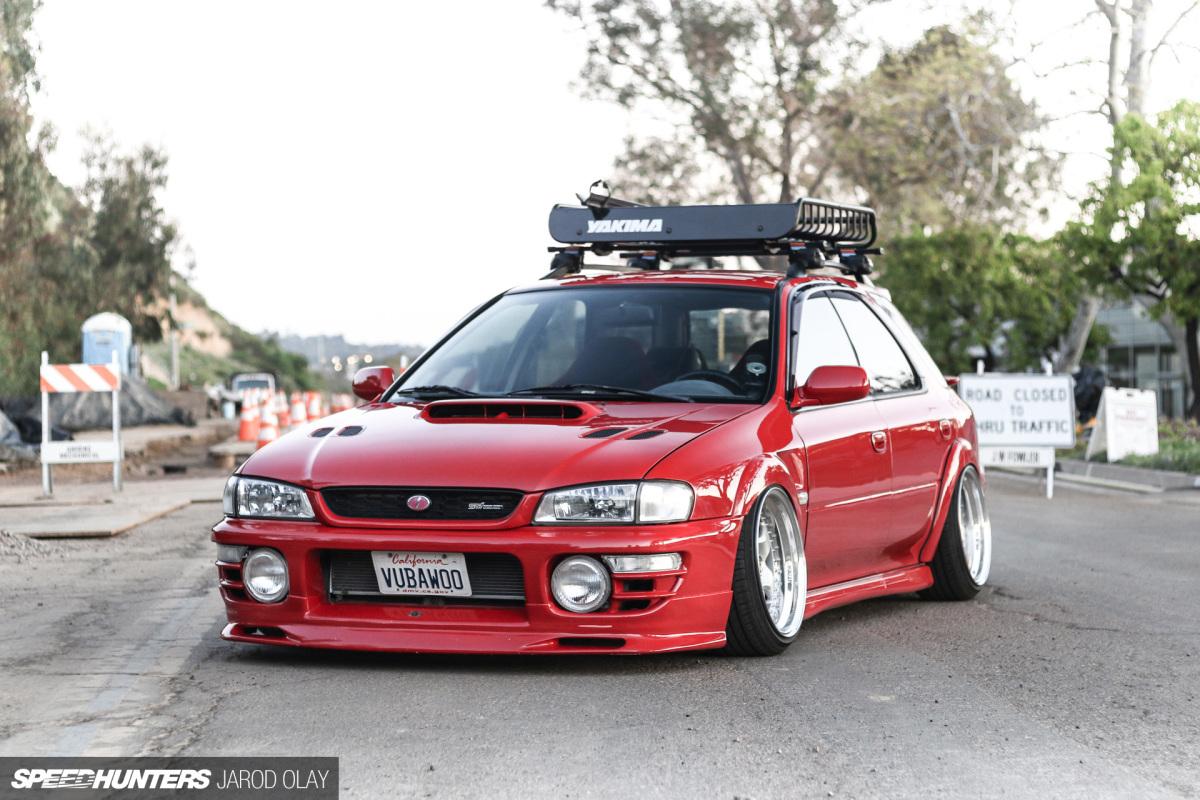 Rarity: Vu Nguyen's Subaru OutbackSport