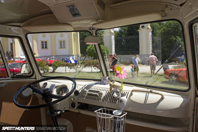 Volkswagen T1 at Schloss Freudenhain Passau Germany by Sebastian Motsch