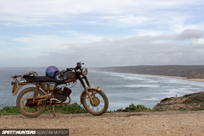 Macal Motorcycle at Algarve Coast Portugal by Sebastian Motsch