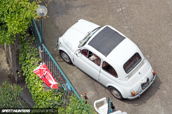 FIAT Nuova 500 at Amalfi Coast Italy by Sebastian Motsch