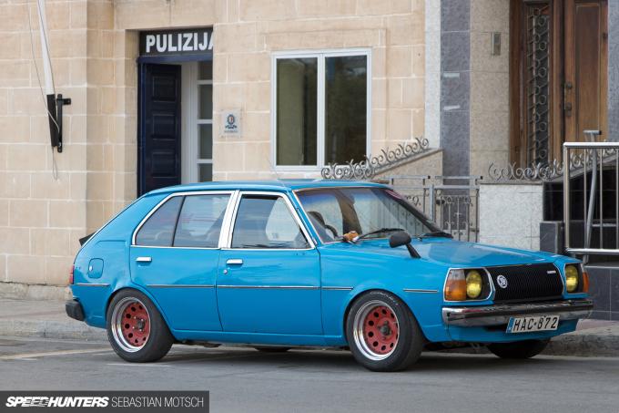 Mazda 323 FA4 in Birzebugga Malta by Sebastian Motsch