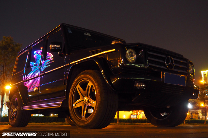 Mercedes-Benz G55 AMG in Beijing China by Sebastian Motsch