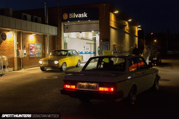 Volvo 142 242 in Rakkestad Norway by Sebastian Motsch