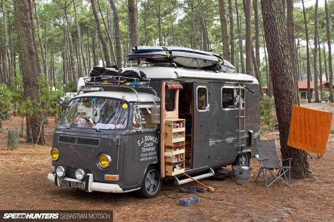 Volkswagen T2a Kemperink in Cap de l'Homy France by Sebastian Motsch
