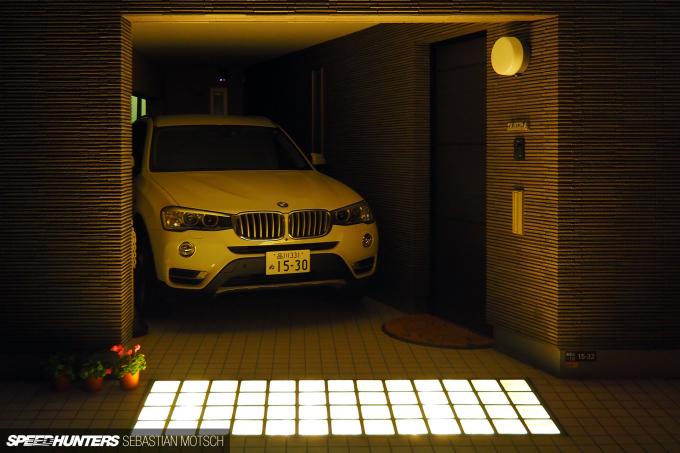 BMW X3 F25 in Tokyo Japan by Sebastian Motsch