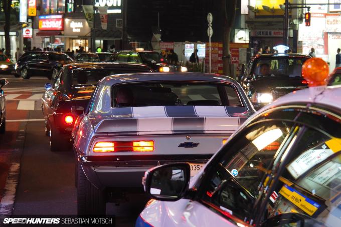 Chevrolet Camaro in Tokyo Japan by Sebastian Motsch