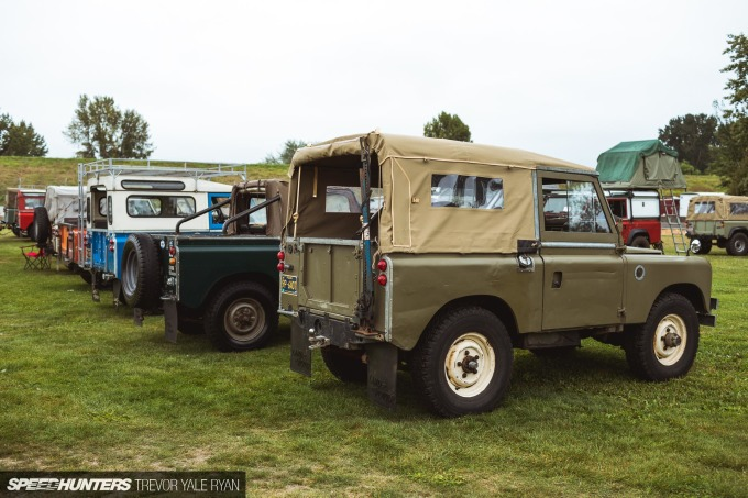 , All British Field Meet: Politely Parked