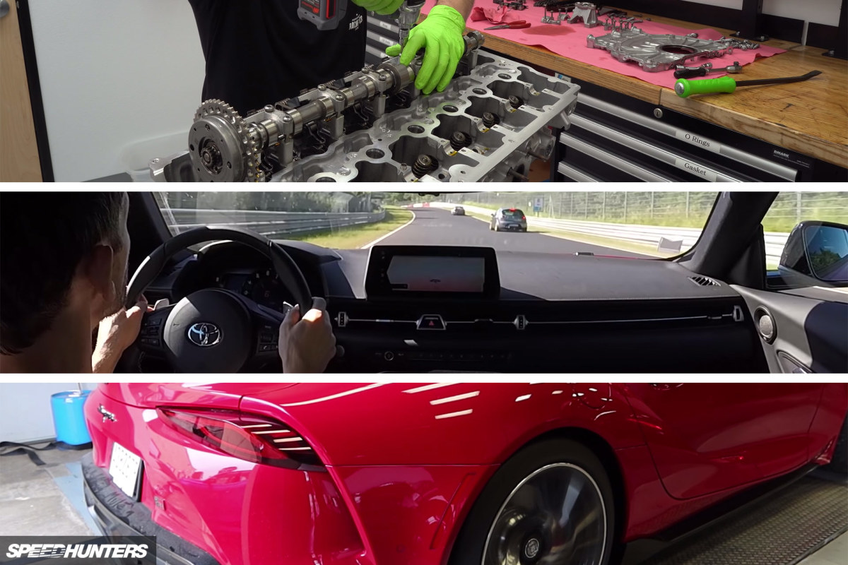 Supra Sunday: Five Videos On The New A90