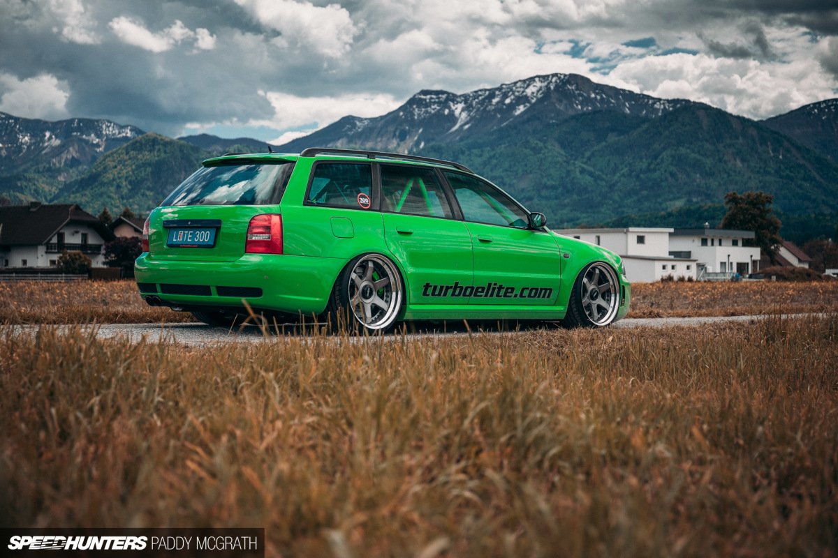 The 1,000.1hp R32-Powered Audi RS4