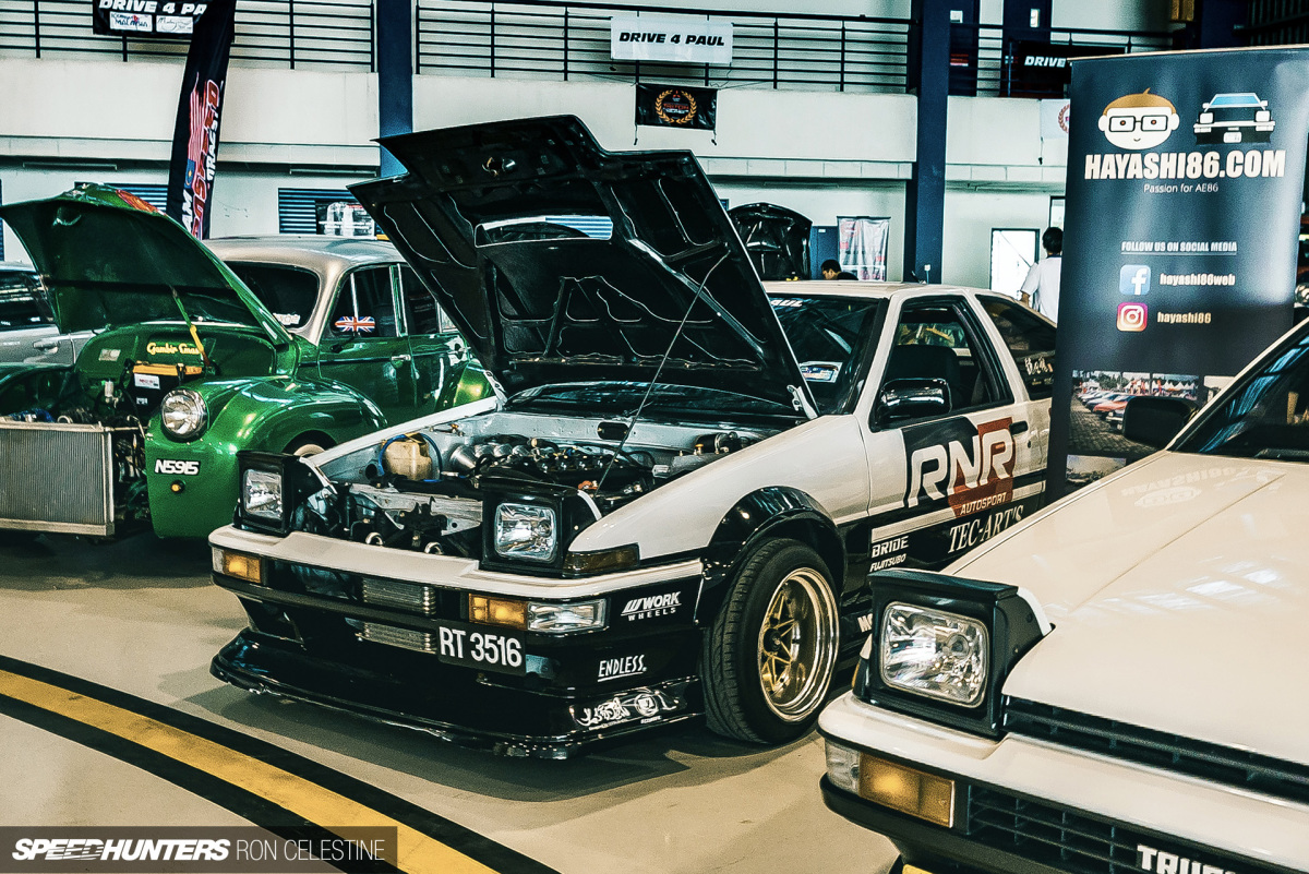 Giving The Tec-Art's Touch To A Malaysian AE86