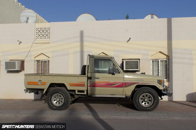 Speedhunters 1 Toyota LandCruiser 70-series Pickup in Oman by Sebastian Motsch