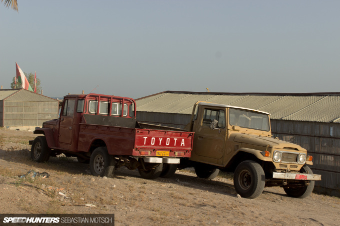 Speedhunters A pair of 40-series Toyota LandCruiser in Oman by Sebastian Motsch