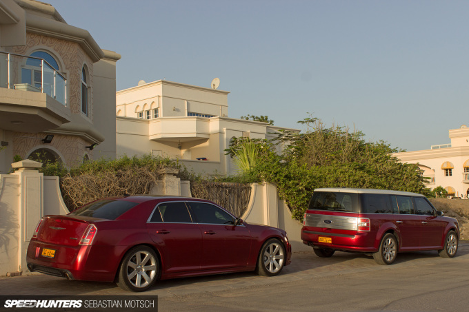 Speedhunters Chrysler 300C and Ford Fusion in Oman by Sebastian Motsch
