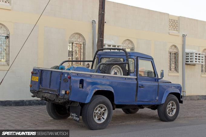Speedhunters Land Rover Defender 130 Pickup in Oman by Sebastian Motsch