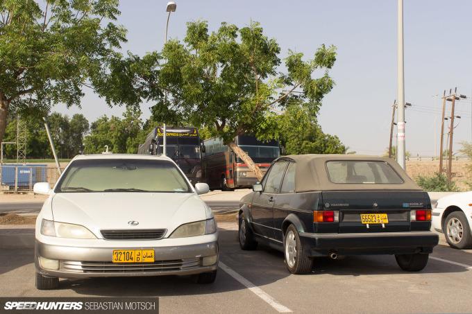 Speedhunters Lexus ES and VW Golf Cabrio in Oman by Sebastian Motsch