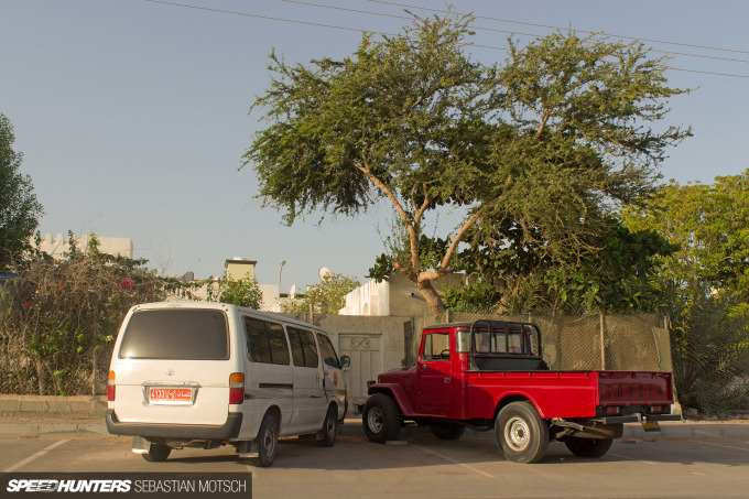 Speedhunters Toyota Hiace and LandCruiser in Oman by Sebastian Motsch