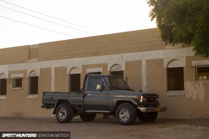 Speedhunters Toyota LandCruiser 70-series Pickup in Oman by Sebastian Motsch