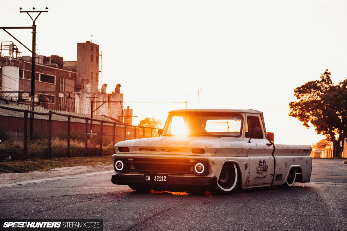 Squared Up: A Dumped Down Chevy C10