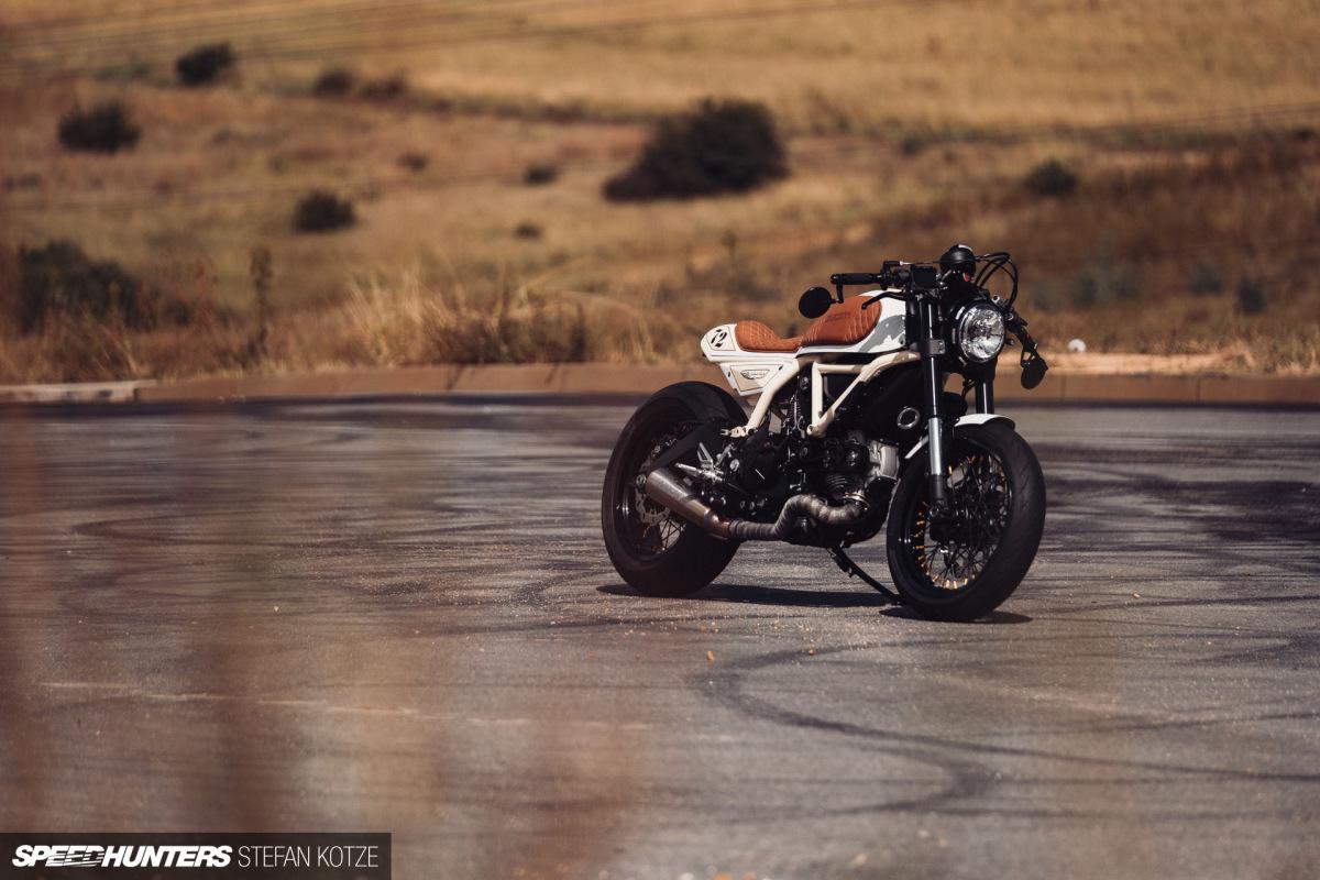 Cortado Racer: A Dissected DucatiScrambler
