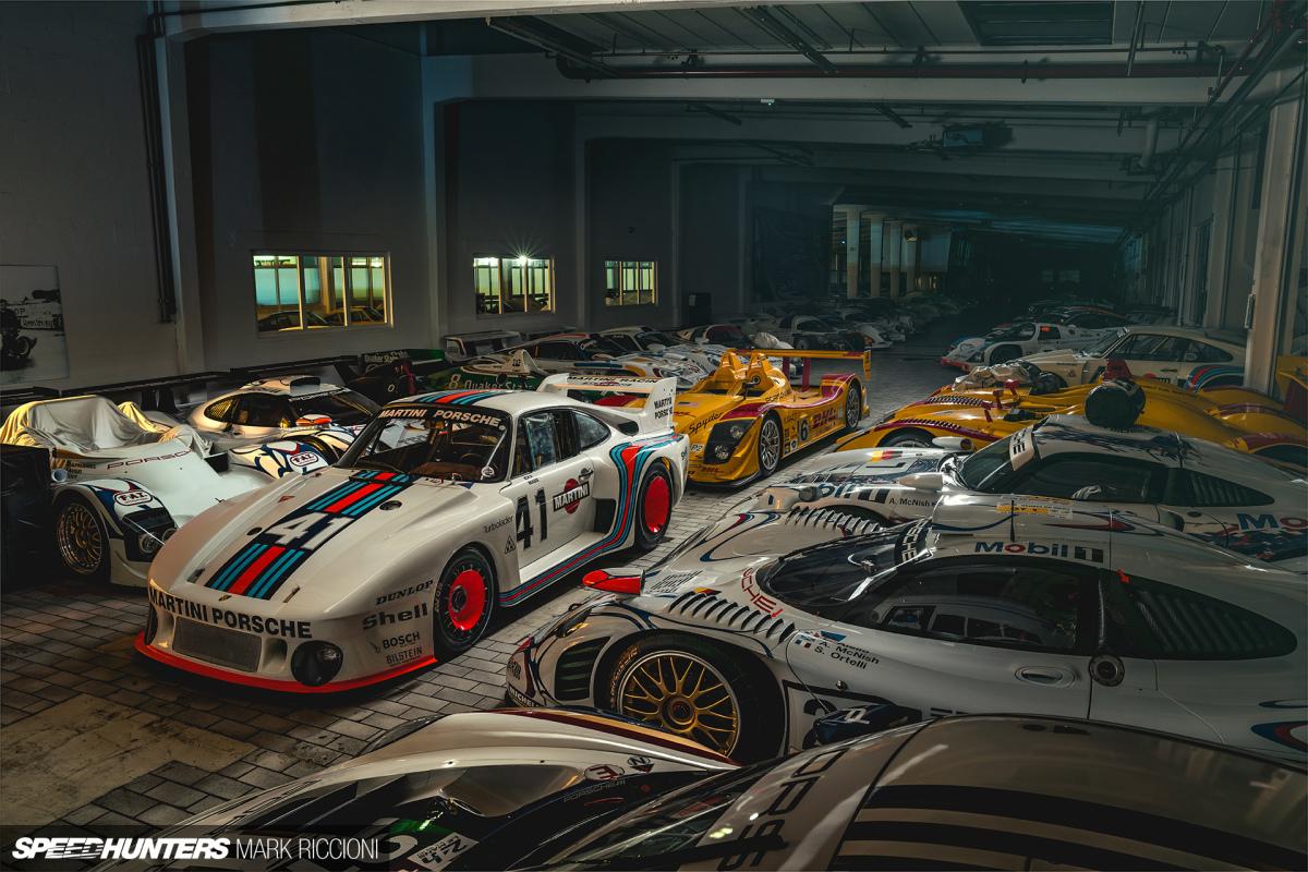 The (Not So) Secret Porsche Museum StorageFacility
