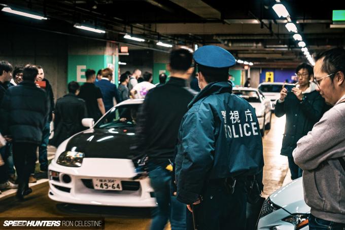 Speedhunters_RonCelestine_UndergroundMeet_Shibuya_Police