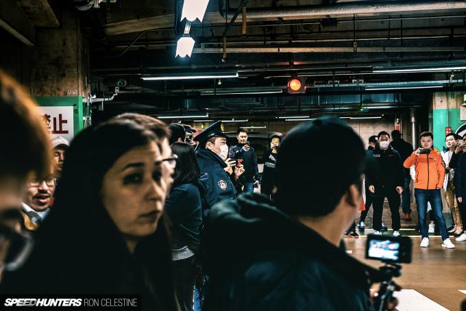Speedhunters_RonCelestine_UndergroundMeet_Shibuya_Police_1