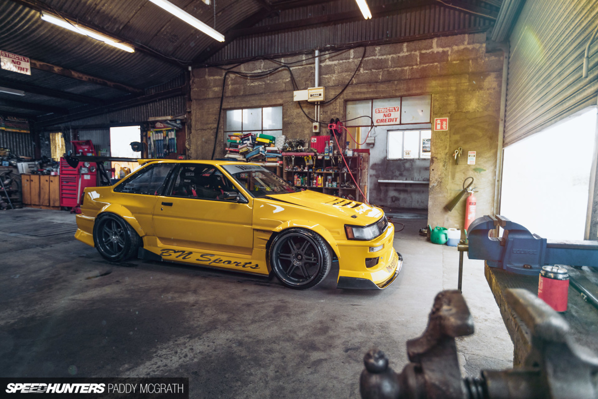 600 Reasons Why A V8-Swapped AE86 Is A Good Thing