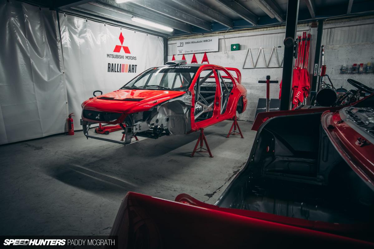 Meet The Saviours Of Mitsubishi's Last WRCEra