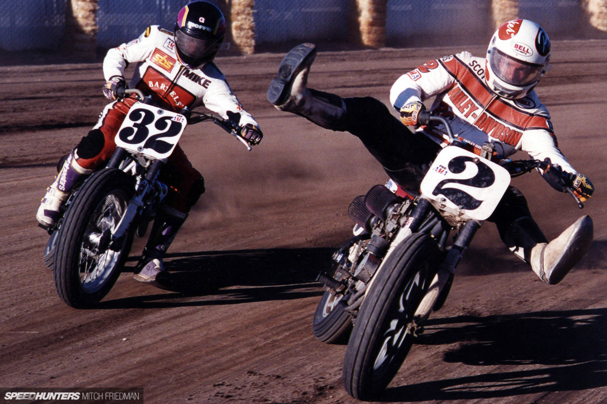 140mph & No Front Brakes: The American Flat Track Backstory