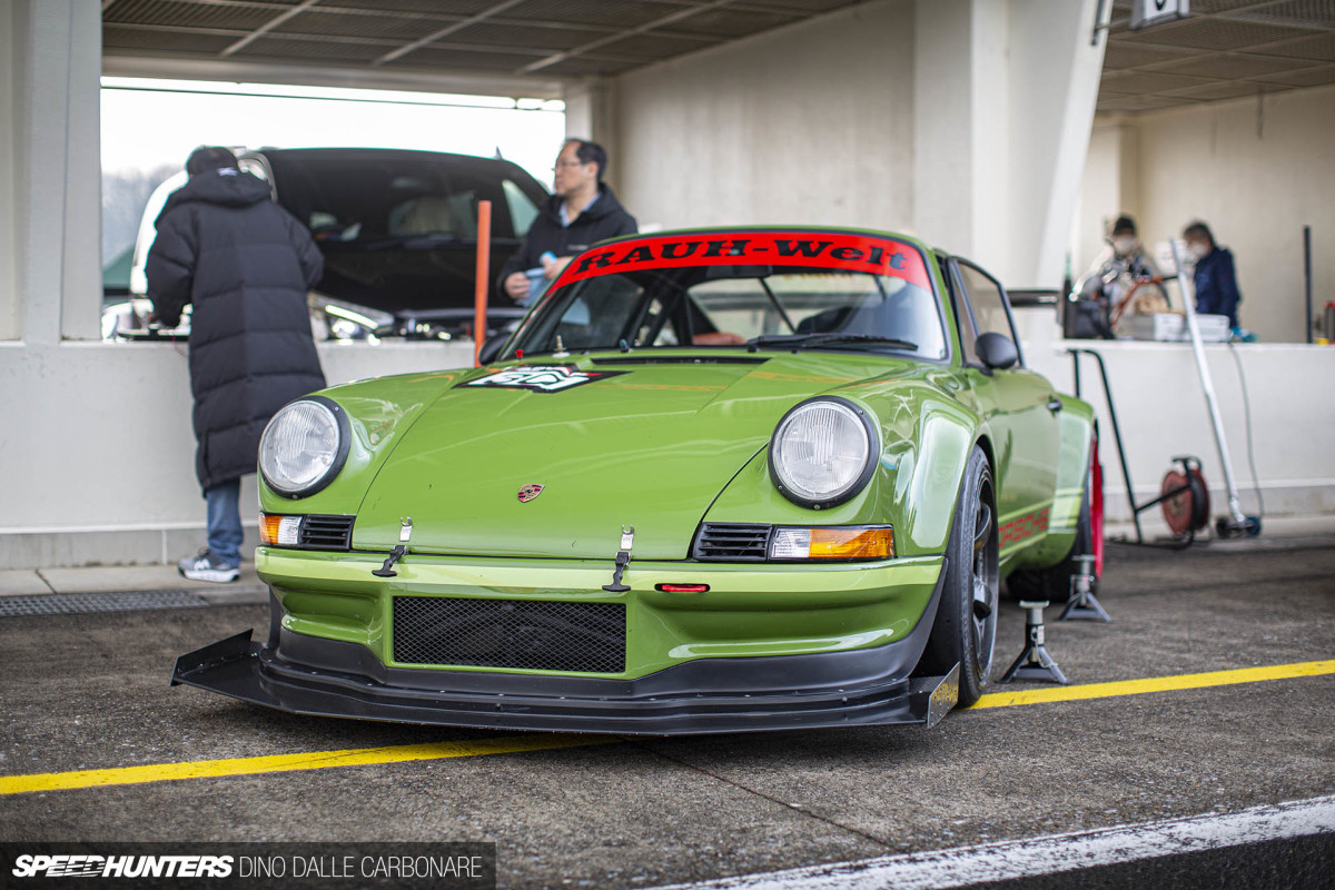 RWB's 964 RS Long Hood For The Track