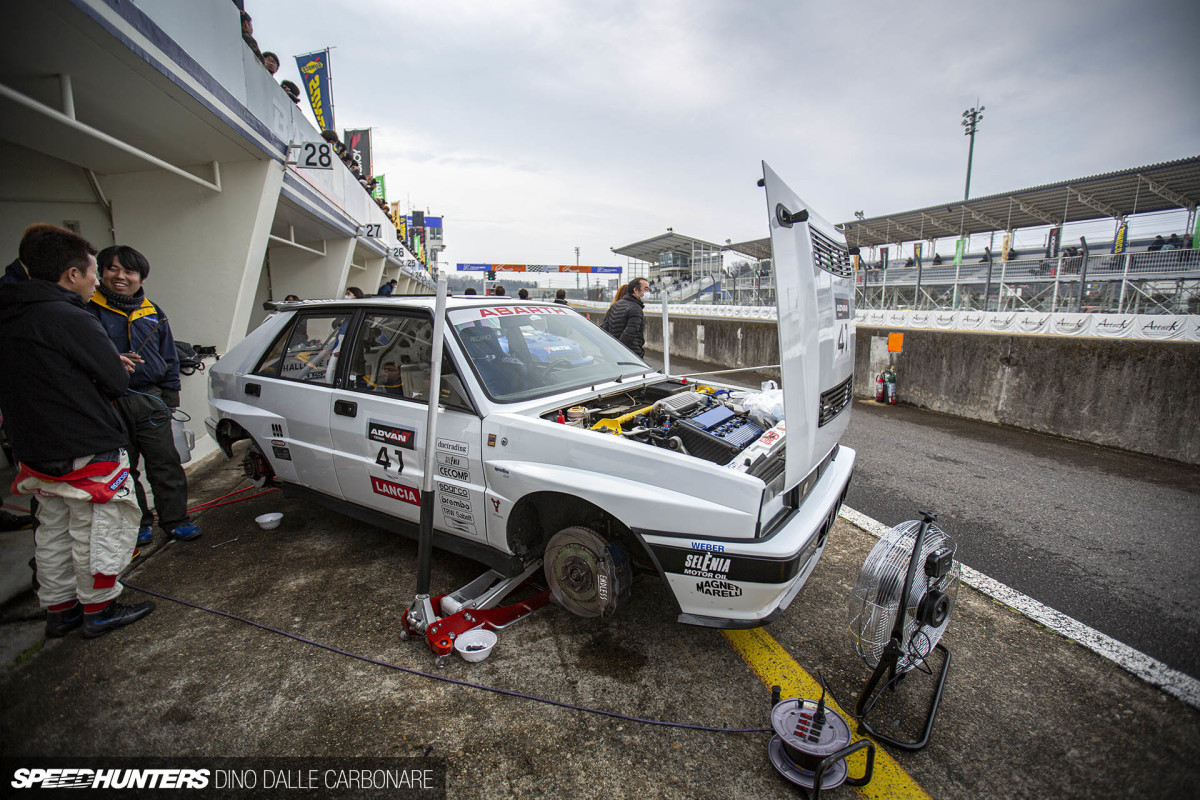 A Time-Attacking Lancia DeltaIntegrale