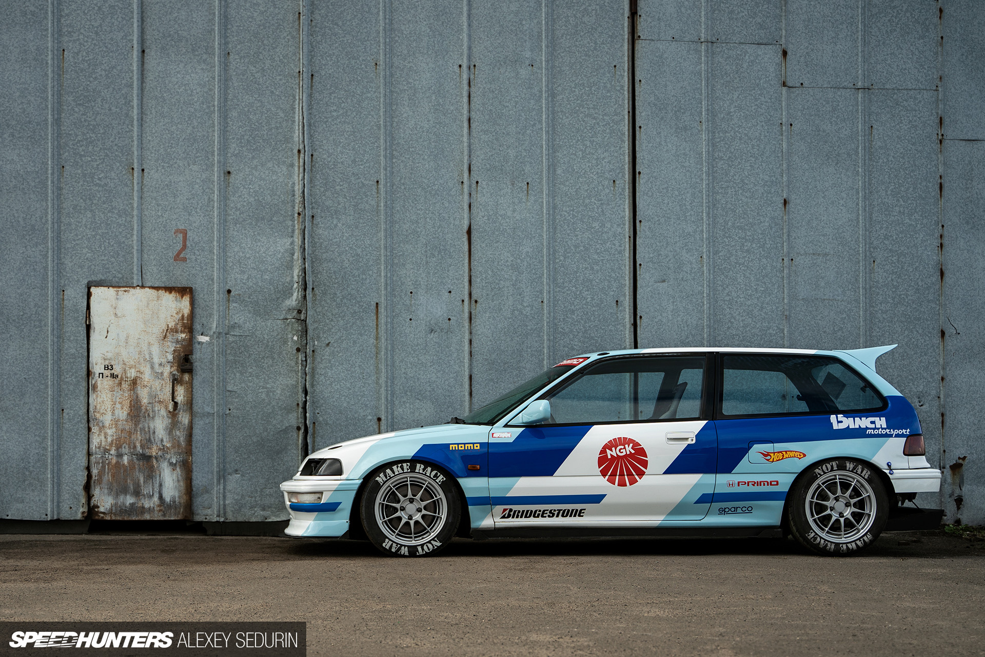 A Kanjo Inspired Civic In Russia Speedhunters
