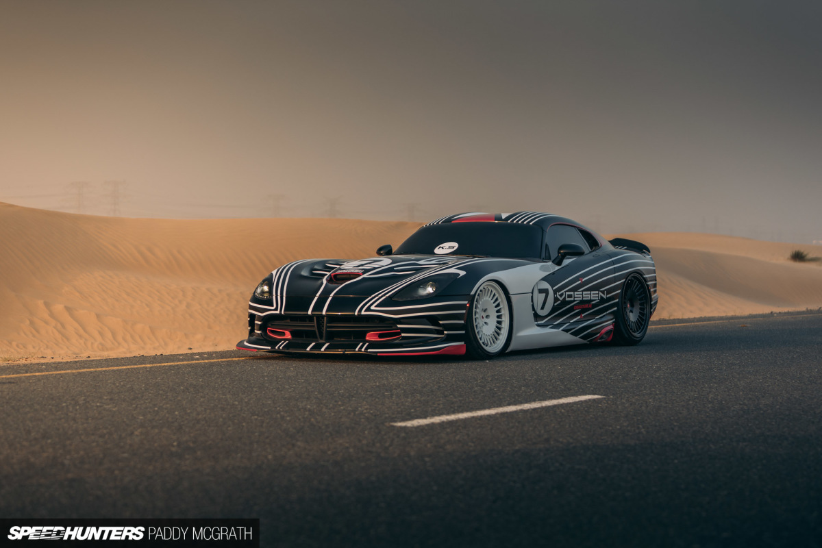 Just A Viper In TheDesert