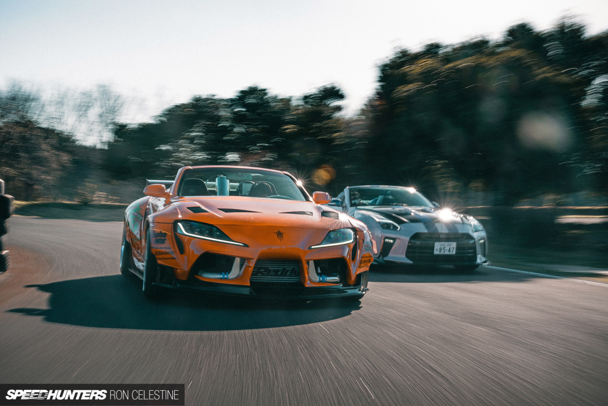 Supra & GT-R Lookalikes From The School OfIllusion