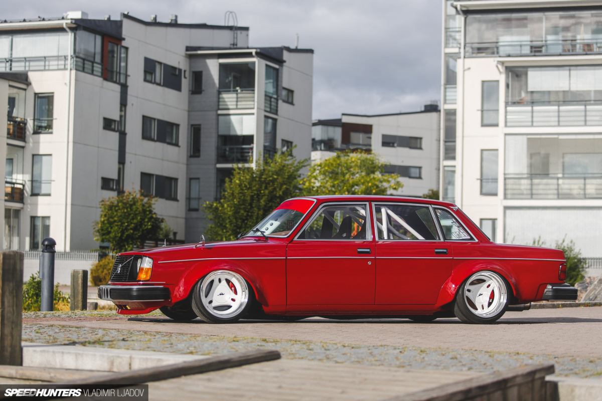A Low & Wide Volvo With 2JZPunch